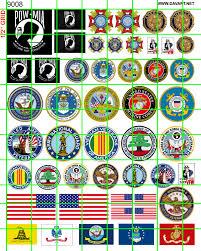 Us Military Flags 9008 U2013 Misc Building Traffic U2013 Us Military U0026 Organization Logos