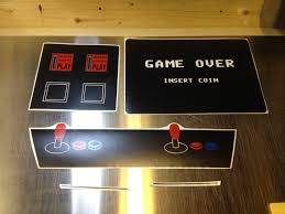 Cabinet Door Decals by Walking Dead Promotions Turn Your Fridge Into A Vintage Arcade