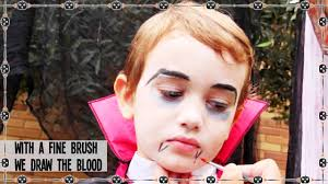 diy halloween vampire makeup for kids youtube
