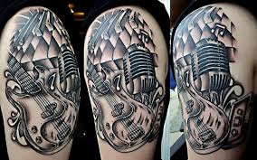 music tattoo designs half sleeve hair and tattoos