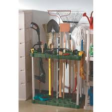 Garden Tool Storage Cabinets Rubbermaid 37 In H X 18 In L X 36 In W Plastic Tool Tower 7092