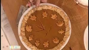 video simple pumpkin pie martha stewart