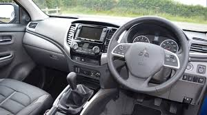 mitsubishi mpv interior mitsubishi l200 series 5 2016 review by car magazine
