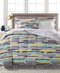 Macy S Bed And Bath Cliffside Reversible Bedding Ensemble Created For Macy U0027s Bed In