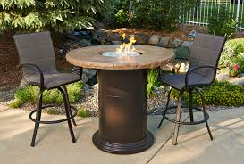 Outdoor Table With Firepit by Fireplaceltd Specials