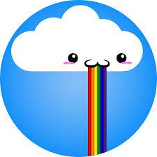 Throwing Up Rainbows Meme - image 228584 puking rainbows know your meme