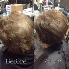layered crown haircut haircut and retouch smoothed through ends 90 degree 1 inch off