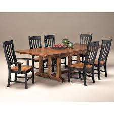 Mission Dining Room Table Rustic Mission Dining Room Set W 2 Chair Choices Intercon