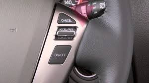 2014 nissan armada cruise control if so equipped youtube