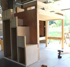 Build Your Own Wood Bunk Beds by Bunk Beds With Stairs Bed Plans And On Pinterest Build Your Own