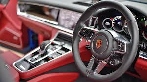 porsche panamera red interior porsche panamera 2017 turbo s price mileage reviews