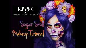 Sugar Skull Halloween Makeup Sugar Skull Calavera Catrina Halloween Makeup Tutorial Nyx