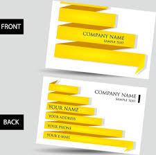 Bisness Card Design Free Vector Creative Business Card Design Free Vector Download