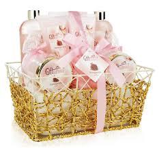 bath gift basket spa gift basket with heavenly garden fragrance