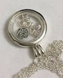 pandora heart necklace pendant images Wholesale 925 sterling silver medium floating locket with forever jpg