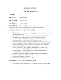 examples of job descriptions for resumes sales resume retail sales manager job description retail sales sales resume retail store manager job description retail sales manager resume examples retail sales