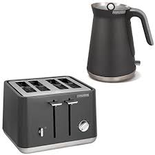 Morphy Richards Toasters And Kettles Morphy Richards Aspect Stainless Steel Titanium Electric 4 Slice