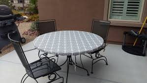 vinyl elasticized table cover round fitted tablecloth table cover elastic drawstring