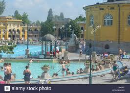 Bad Budapest Budapest Szechenyi Baths Stockfotos U0026 Budapest Szechenyi Baths