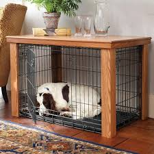 wooden table dog crate cover malm woodturnings diy ideas