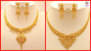 girls gold necklace images Latest gold necklace designs with weight and price girls women jpg