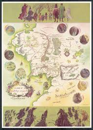 The Shire Map Rouse The Shire Folk Encyclopedia Virginia The Blog