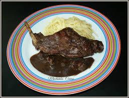 cuisiner un lievre au vin civet de lapin de ma grand mère miechambo cuisine