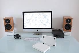 diy desktop speaker stands budgetaudiophile