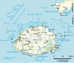 Fiji Islands Map Map Viti Levu Maps And Directions At Map