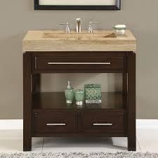 36 u201d perfecta pa 5522 bathroom vanity single sink cabinet dark