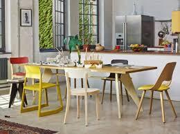 chaises cuisines cuisine avec chaise depareillees vitra déco vintage