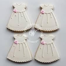 favor cookies christening dress cookie favors bakeshop