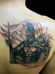 spartan warrior tattoos for men pictures to pin on pinterest