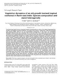 native plants of india vegetation dynamics of an old growth lowland tropical rainforest