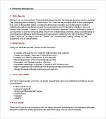 templates for business consultants consultant proposal sle daway dabrowa co