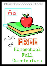 free homeschool curriculum resources archives money a list of free full homeschooling programs online blessed beyond