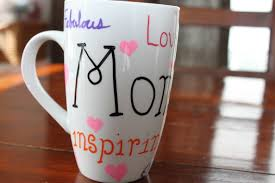 mothers day mugs diy painted mugs for s day