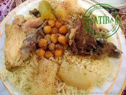 cuisine traditionnelle algeroise rèchta algéroise