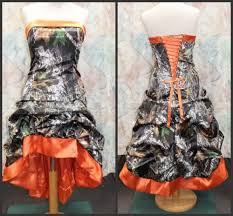 aliexpress com buy gothic knee length orange camo wedding