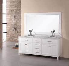 72 inch modern sink bathroom vanity in pearl white uvde076b272