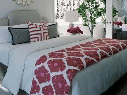 how to make a bed like a pro mix patterns like a pro hgtv