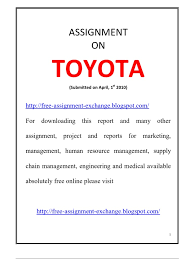case study toyota hybrid synergy drive toyota free assignment exchange blogspot toyota car