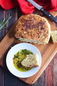 Rosemary Garlic Bread Machine Recipe Rosemary Olive Oil Crock Pot Bread Host The Toast