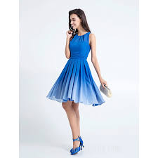royal blue dress knee length chiffon bridesmaid dress royal blue plus sizes