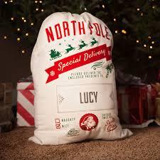 personalized santa sack personalized santa bag