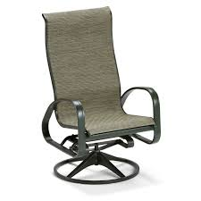 Patio Furniture Chairs by Belham Living Winston Savoy Sling Swivel Tilt Chat Chair Hayneedle