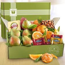 fruit gift boxes harvest favorites fruit and gourmet gift box ab2022 a gift inside