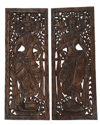 best asian wood carved wall art panels unique handmade wall decor wood carved wall art large carved wood panel thai decorative wood panel wood