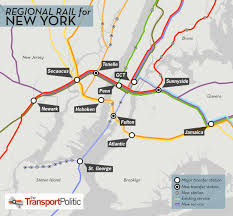 Boston Rail Map by Regional Rail For New York City U2013 Part Ii The Transport Politic