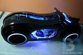 Tron Legacy Light Cycle Tron Legacy Light Cycle Computer Case Mod Gadgetsin
